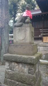 池尻稲荷神社 神狐 (2)
