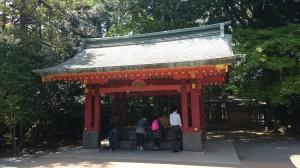 氷川神社 手水舎