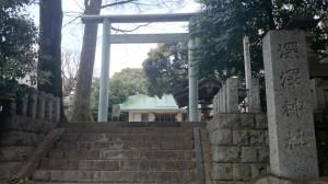 深澤神社 鳥居