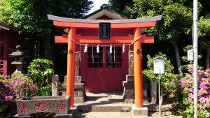 羽田神社 鈴納稲荷神社
