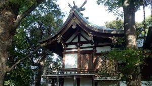 奥澤神社 本殿