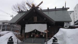北海道神宮頓宮 拝殿