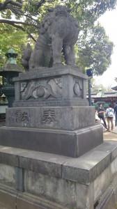 上野東照宮 狛犬 (2)