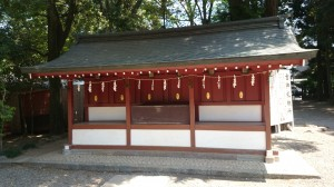 氷川神社 六社合祀殿