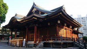 湯島天満宮 拝殿