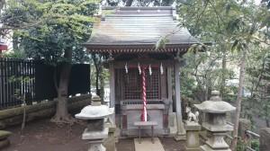 瀬田玉川神社 境内社稲荷神社 (2)