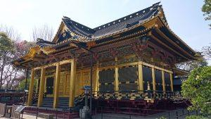 上野東照宮 拝殿