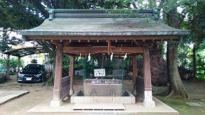 玉川神社 手水舎