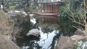愛宕神社 庭園 (2)