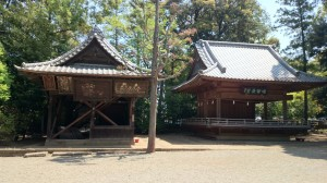 氷川神社 額殿・神楽殿