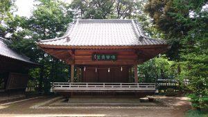 大宮氷川神社 神楽殿