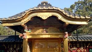 上野東照宮 唐門内側 (2)