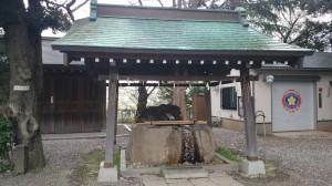 深澤神社 手水舎