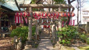 亀戸天祖神社 太郎稲荷神社 石鳥居