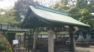 上野東照宮 手水舎
