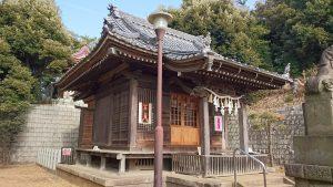 尾山台宇佐神社 拝殿