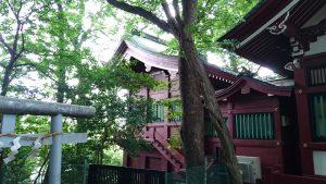 駒繋神社 本殿