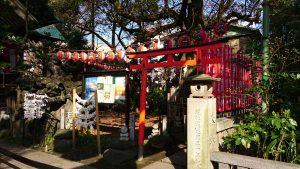 亀戸天祖神社 太郎稲荷神社 赤鳥居