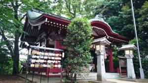 駒繋神社 拝殿