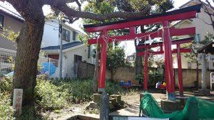 瀬田玉川神社 瘡守稲荷神社 (1)