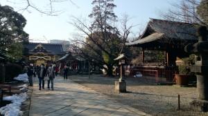 上野東照宮 拝殿手前