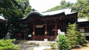 玉川神社 拝殿