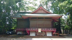 玉川神社 神楽殿