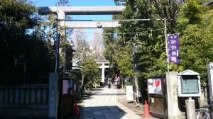 亀戸天祖神社 鳥居