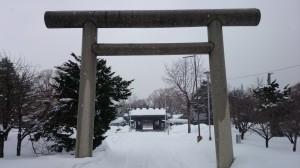 札幌護国神社 鳥居