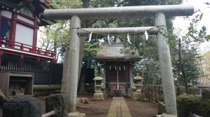 瀬田玉川神社 境内社稲荷神社