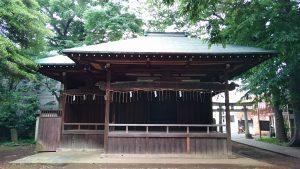 駒繋神社 神楽殿
