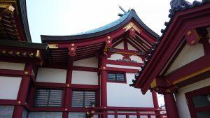 羽田神社 本殿