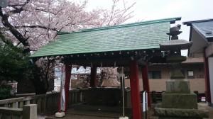 瀬田玉川神社 手水舎