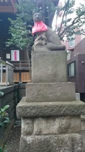 池尻稲荷神社 神狐 (1)