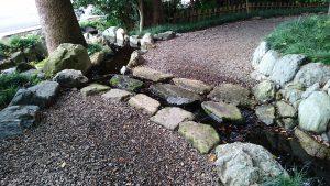 大宮氷川神社 神池への流れ