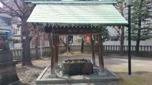 千束稲荷神社 手水舎