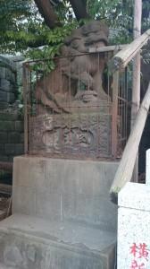 御田八幡神社 狛犬 (1)
