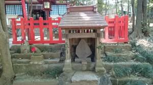 氷川神社 末社稲荷神社 (3)