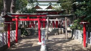 御田八幡神社 五光稲荷神社と御嶽神社