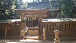鹿島神宮 奥宮 (1)