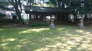 鹿島神宮 祖霊社 拝所