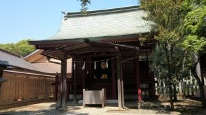 氷川神社 摂社門客人神社