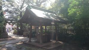 奥澤神社 手水舎