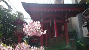 亀塚稲荷神社 社殿