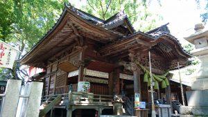 田無神社 拝殿