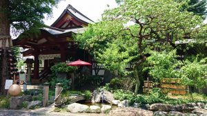 素盞雄神社 庭園