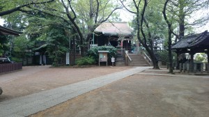 諏方神社 境内