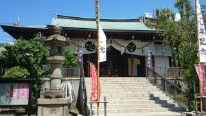 亀戸香取神社 拝殿