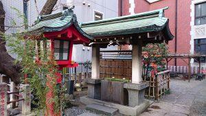 三田春日神社 手水舎