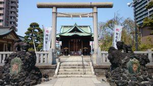 胡録神社 二の鳥居
